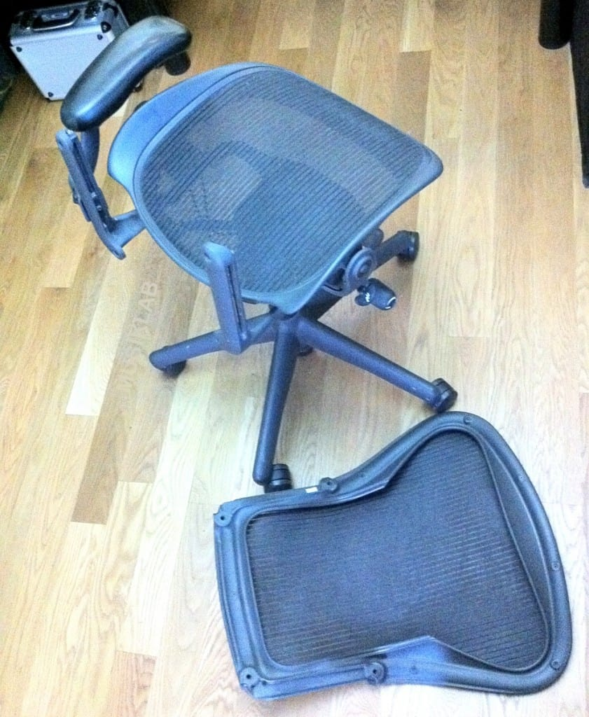 Herman Miller Aeron With Back Off